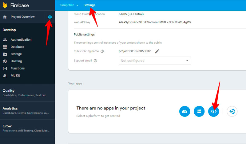 hackear Snapchat Firebase