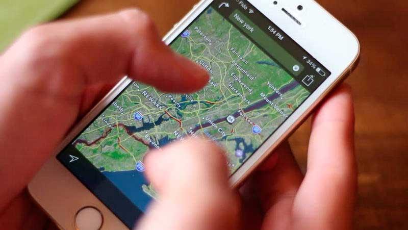 Usa el historial de ubicación de Google