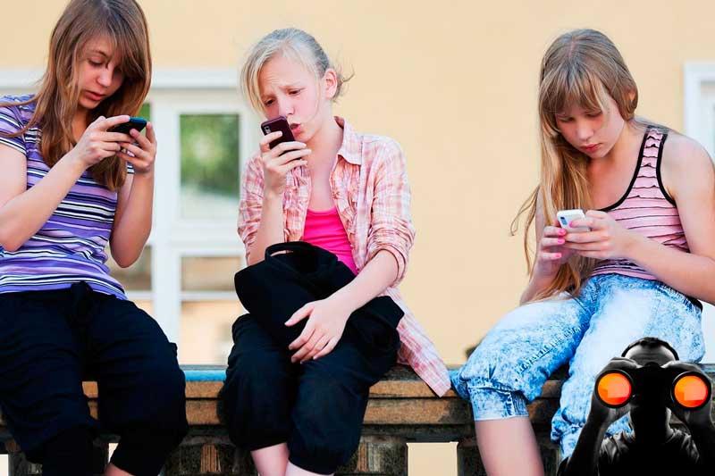 Maneras de escuchar el teléfono móvil del niño