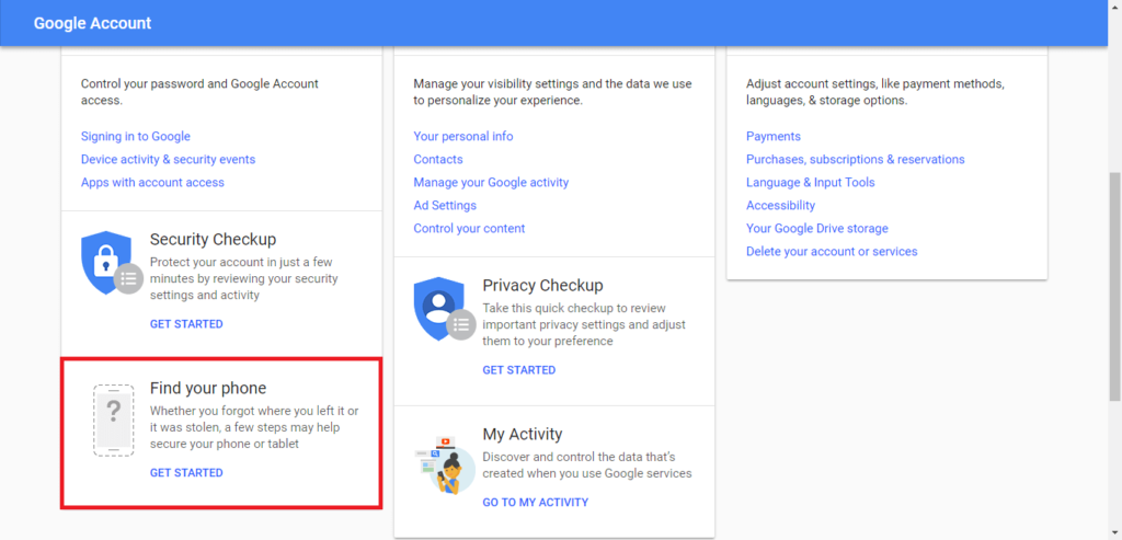 Google en tu PC o en otro teléfono