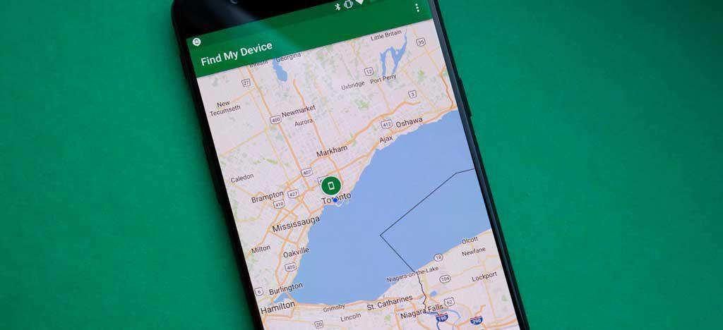 función Buscar mi dispositivo de Google para piratear una contraseña telefónica