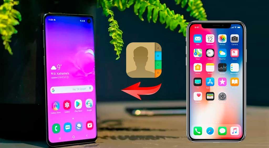 Cómo transferir tus contactos de iPhone a Android