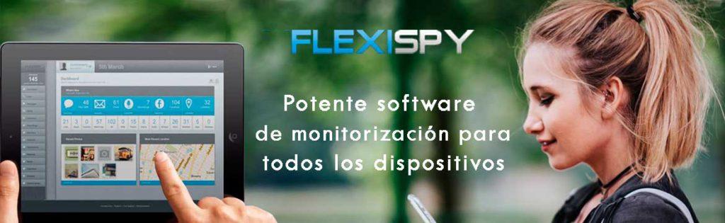 FlexiSPY es una moderna aplicación espía para la monitorización del dispositivo de destino