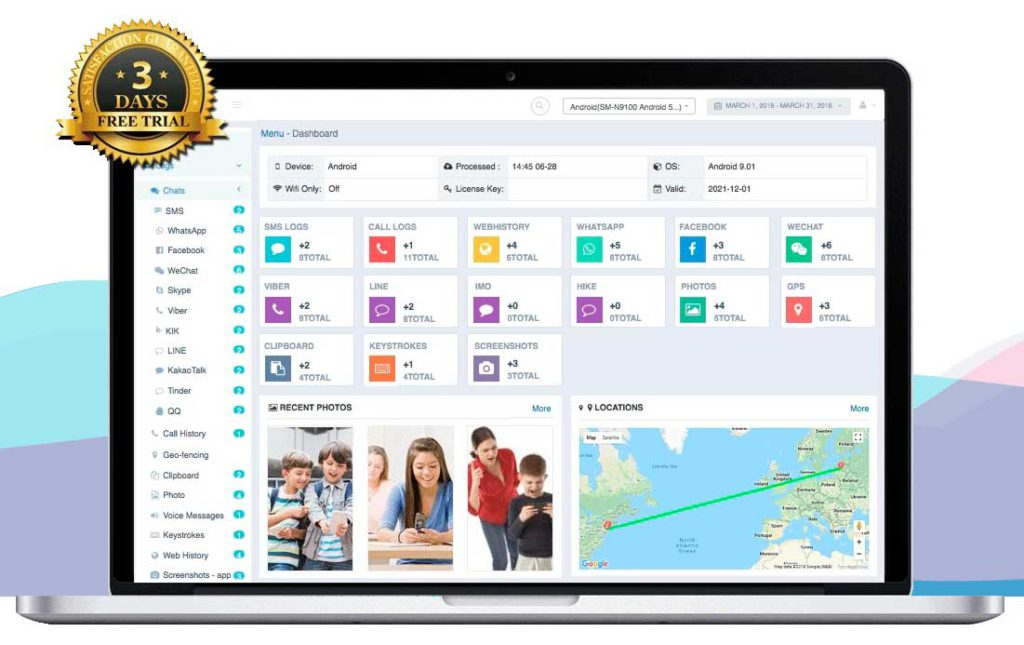 IKeyMonitor es una de las mejores aplicaciones de espionaje telefónico del mercado