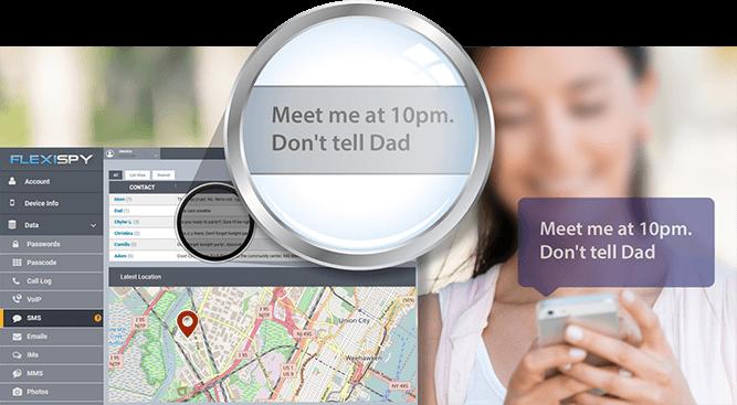 FlexiSPY para rastrear y monitorear a los seres queridos