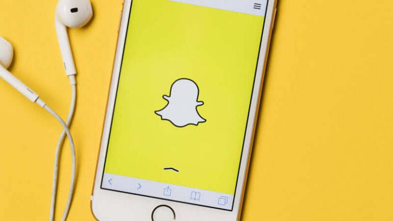 acceder a snapchat en línea