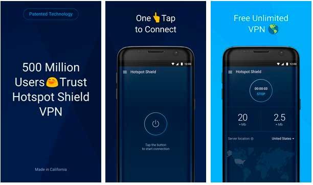 La mejor VPN gratuita para Android Hotspot