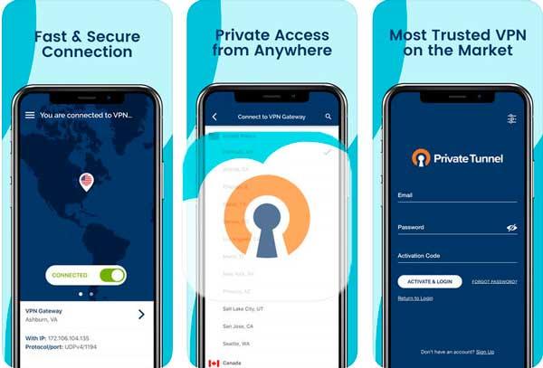 La mejor VPN gratuita para Android PrivateVPN