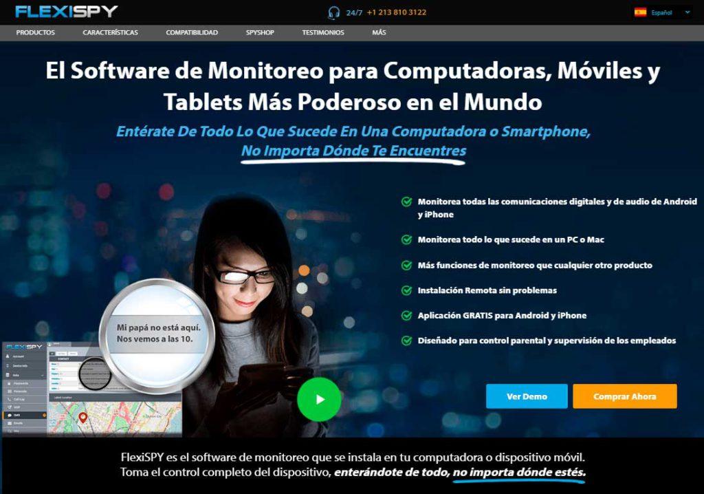 FlexiSPY El Software de Monitoreo para Computadoras, Móviles y Tablets Más Poderoso en el Mundo