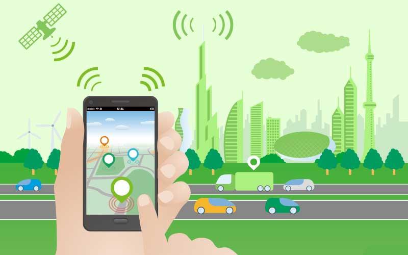 Gps, rastreador de localización, localización móvil, navegación móvil