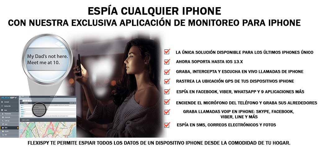 Espía Cualquier iPhone