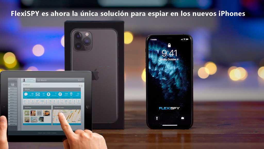 FlexiSPY para los nuevos iPhones