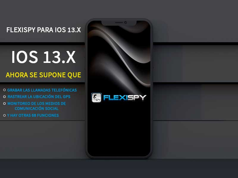 FlexiSPY iOS 13.x