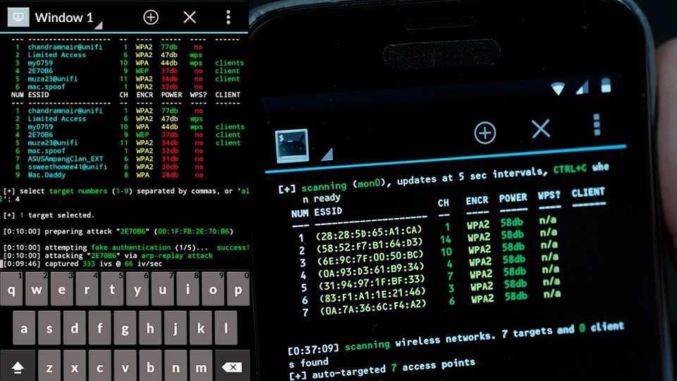 Ataque de Smartphone: Conozca a Kali NetHunter