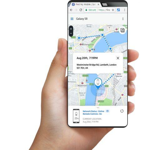 Find My Mobile que podrían ser explotadas por los hackers