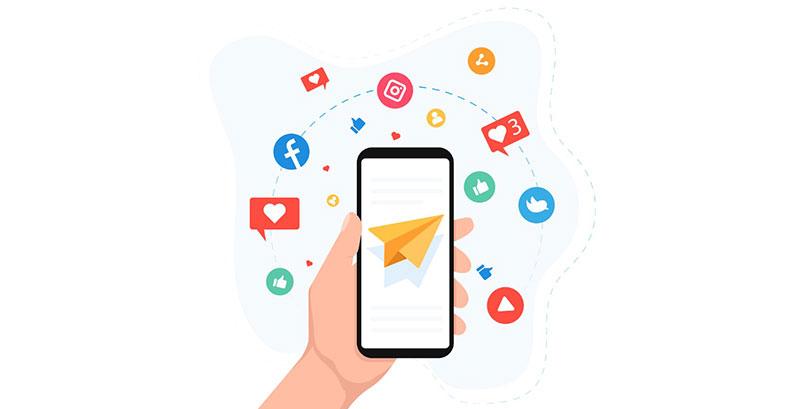 hoverwatch sociales y aplicaciones de mensajería instantánea