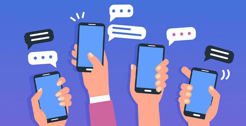 mobicontrol mensajes SMS