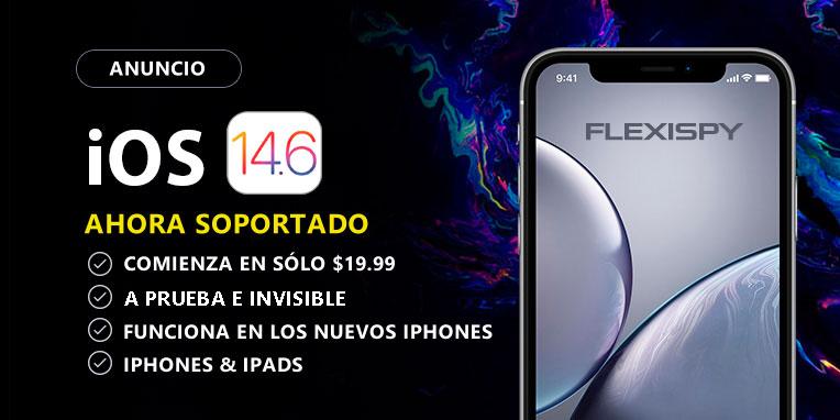 FlexiSPY iPhone y iPad con iOS 14.6.