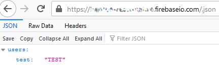 configuración de Firebase errores